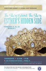 The Story Behind the Story: Esther's Hidden Side Lunch 'n Learn