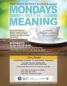 Mondays with Meaning - June