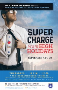 Supercharge Your High Holidays Lunch 'n Learn
