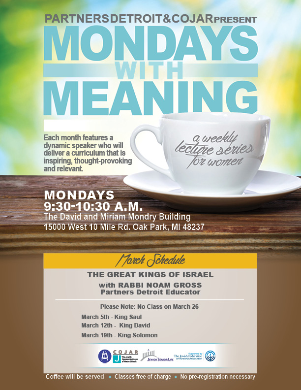 Mondays with Meaning - March