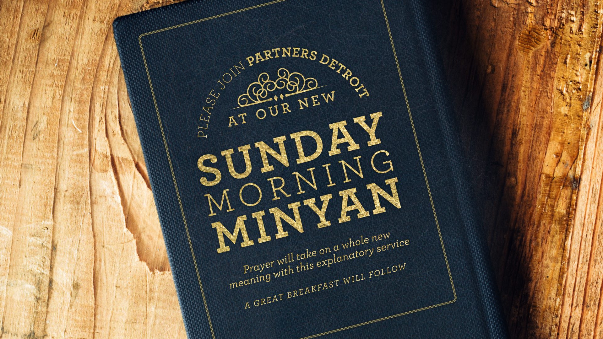 Sunday Morning Minyan for Men