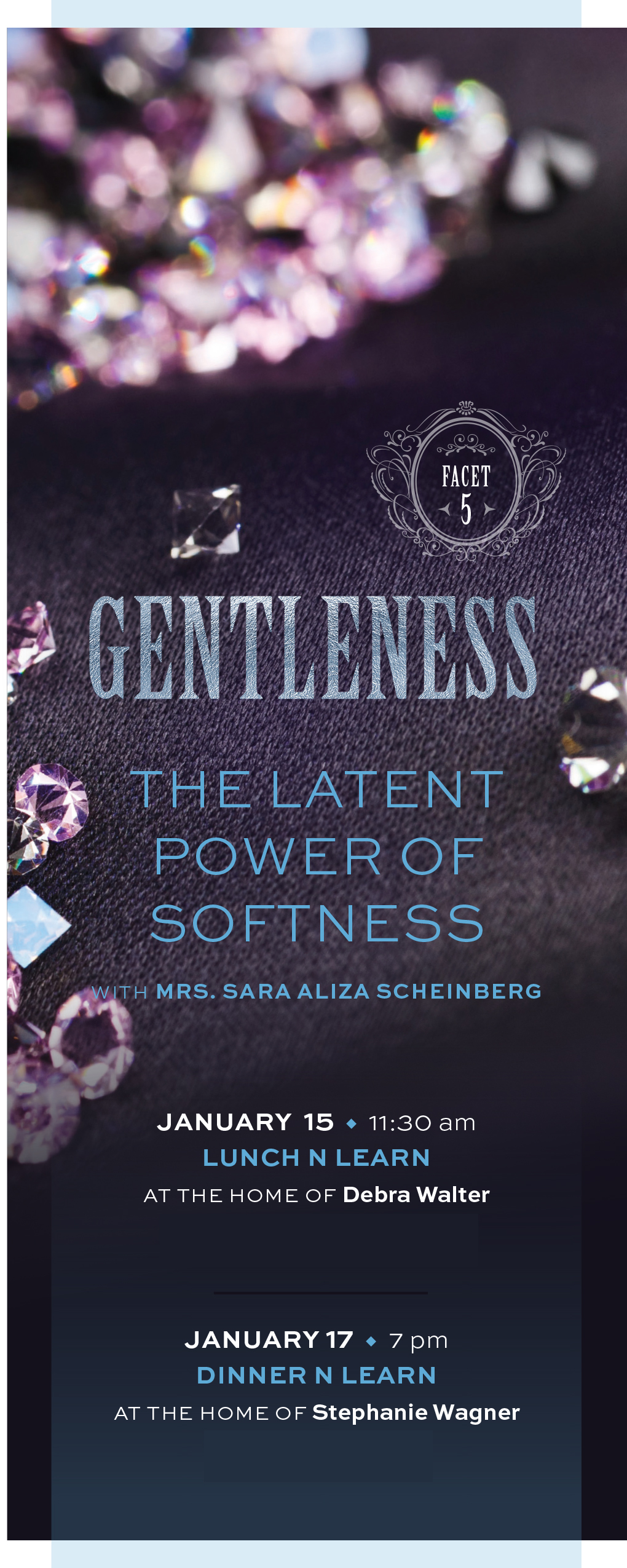Facets - Gentleness: The Latent Power of Softness Dinner 'n Learn