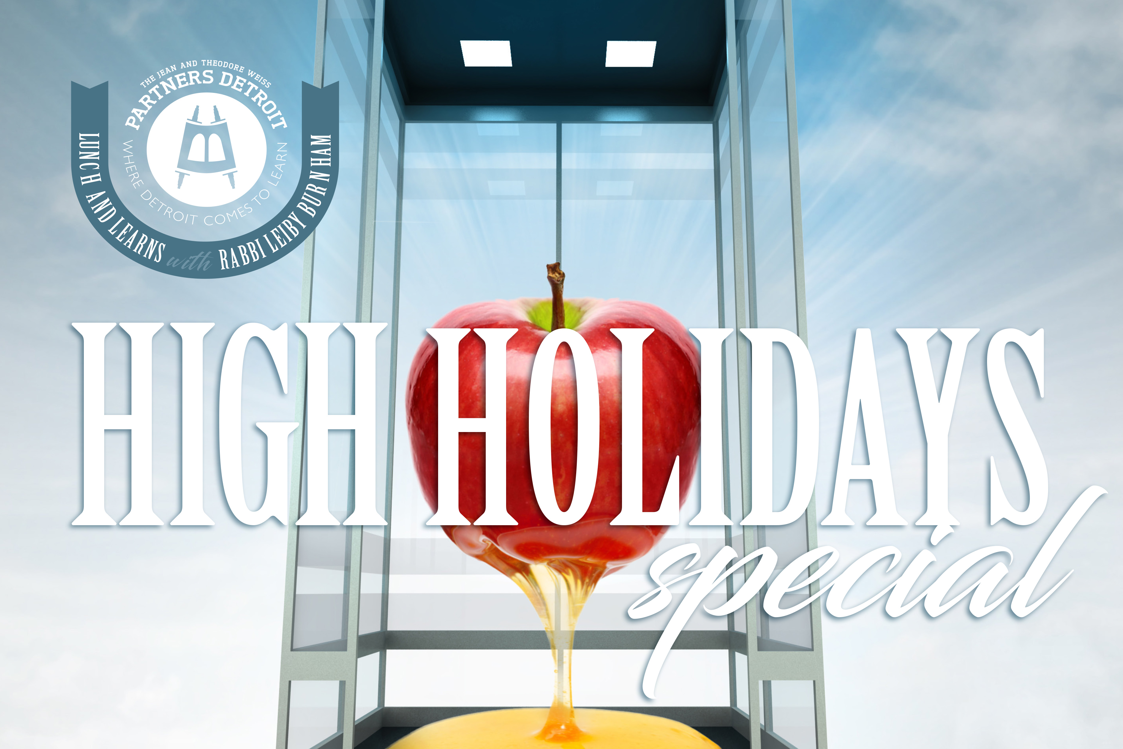 High Holidays Special Lunch 'n Learn with Rabbi Leiby Burnham Part IV