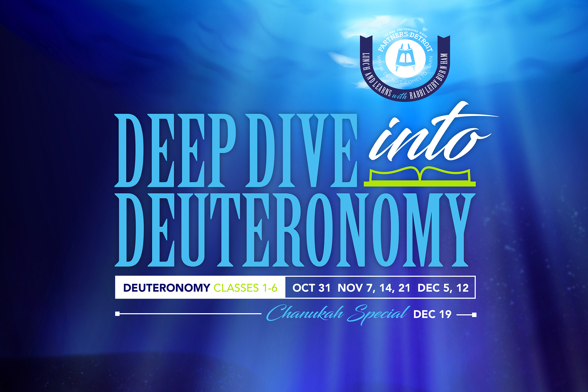 Deep Dive into Deuteronomy Part I Lunch 'n Learn