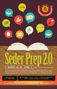 Seder Prep 2.0 Part III Lunch 'n Learn