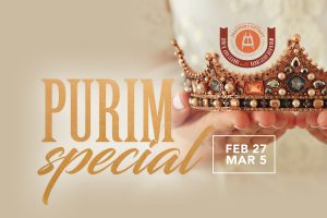 Purim Special Part II Lunch 'n Learn