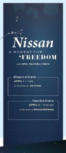 Moments: Nissan - A Moment for Freedom Dinner 'n Learn